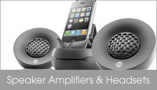 Speakers Amplifiers & Headsets