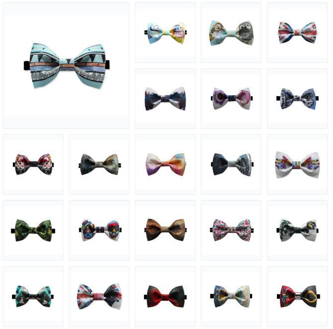 Men Pre-tied Cotton Bow Tie - Available in 25 Choices