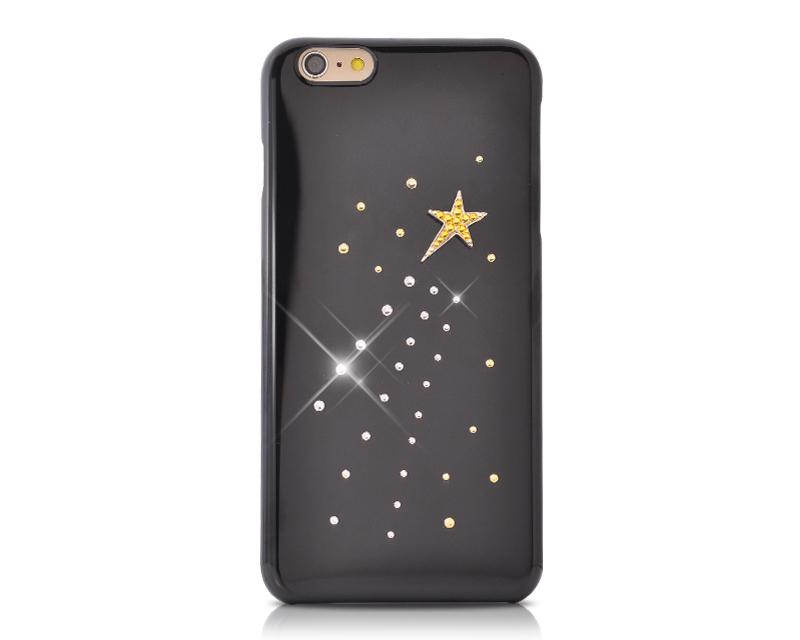 Meteor Bling Swarovski Crystal Phone Cases - Black