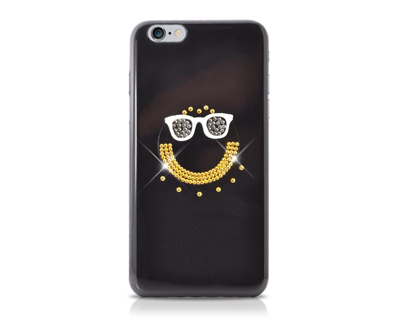 Smiley Bling Swarovski Crystal Phone Cases