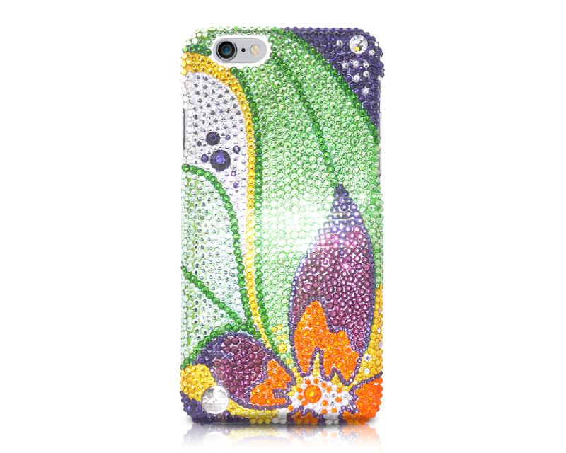 Floral Petals Bling Swarovski Crystal Phone Cases