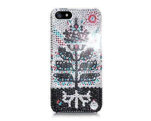 Ice Flower Bling Swarovski Crystal Phone Cases