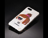 Doll Girl Bling Swarovski Crystal Phone Cases
