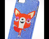 Proud Fox Bling Swarovski Crystal Phone Cases