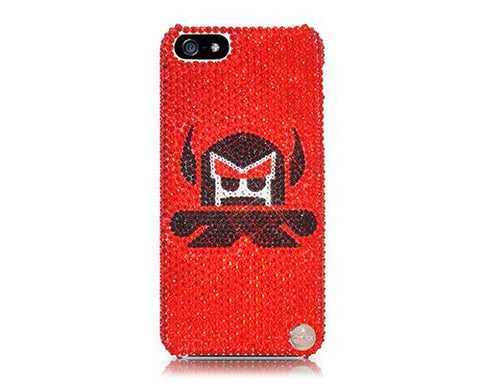 Angry Monkey Bling Swarovski Crystal Phone Cases