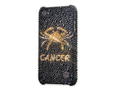 Horoscope Cancer Bling Swarovski Crystal Phone Cases - Black Gold