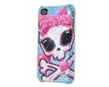 Skull Lady Bling Swarovski Crystal Phone Cases