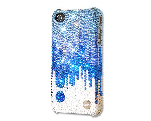 Torrent Bling Swarovski Crystal Phone Cases - Blue