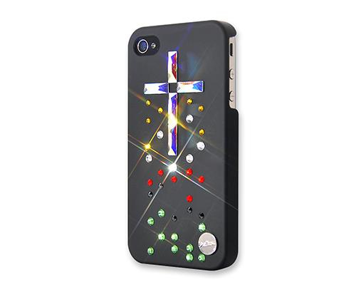 Cross Bling Swarovski Crystal Phone Cases - Colorful
