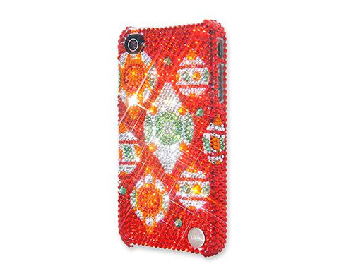 Christmas Decoration Bling Swarovski Crystal iPhone 8 Plus Cases