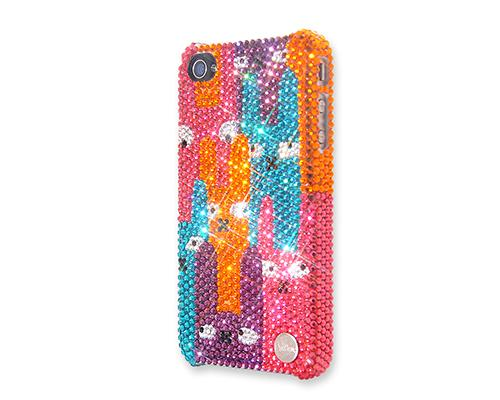 Suspicious Bling Swarovski Crystal Phone Cases