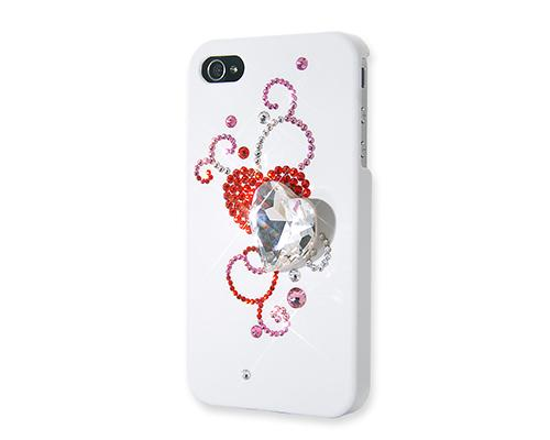 Shadow Heart Bling Swarovski Crystal Phone Cases