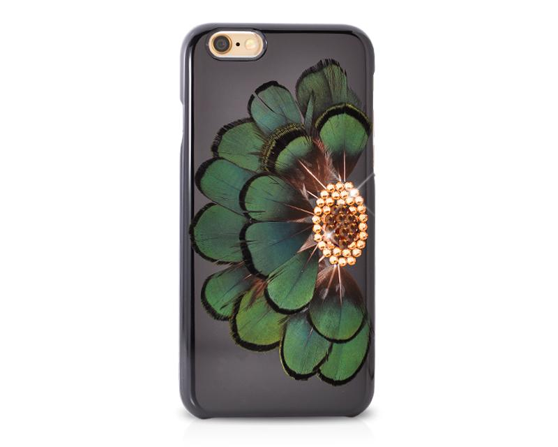 Peacock Bling Swarovski Crystal iPhone X Cases