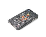 Skull Jimmy's Death Ride Bling Swarovski Crystal Phone Cases