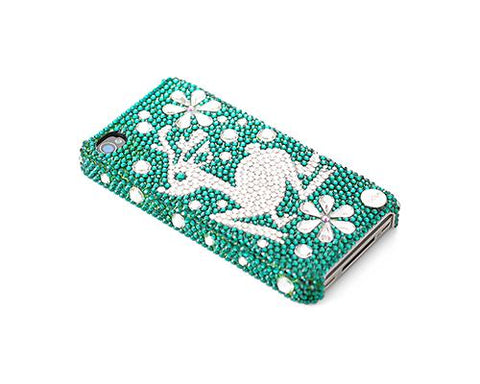 Christmas Snowflake Rudolf Bling Swarovski Crystal iPhone 8 Cases