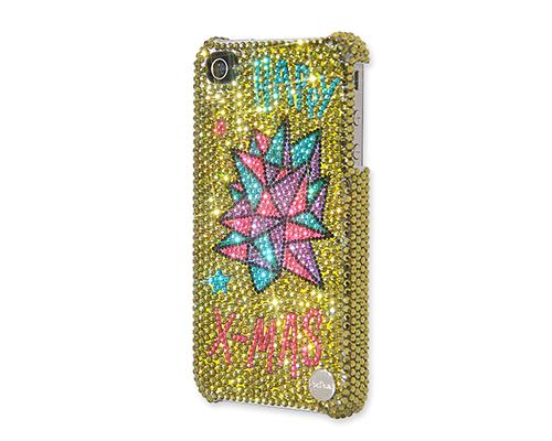 Christmas Star Bling Swarovski Crystal iPhone X Cases