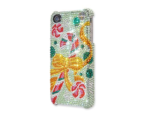 Christmas Candy Bling Swarovski Crystal iPhone 8 Cases