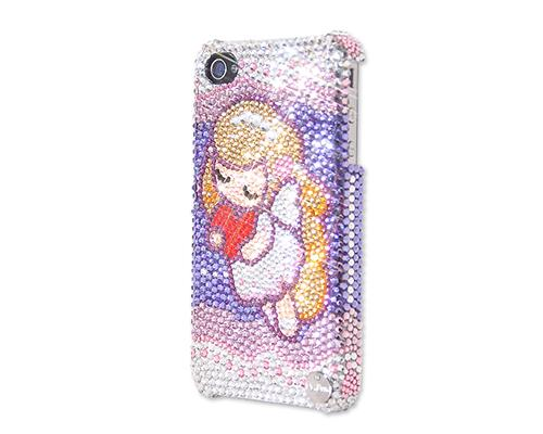 Angel's Love Bling Swarovski Crystal Phone Cases
