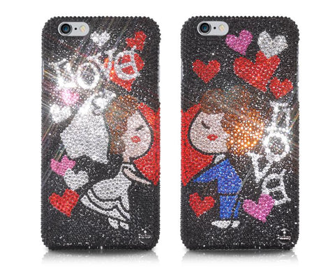 Wedding Memories Bling Swarovski Crystal Phone Cases Set