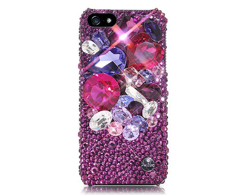 Luminosus 3D Bling Swarovski Crystal Phone Cases