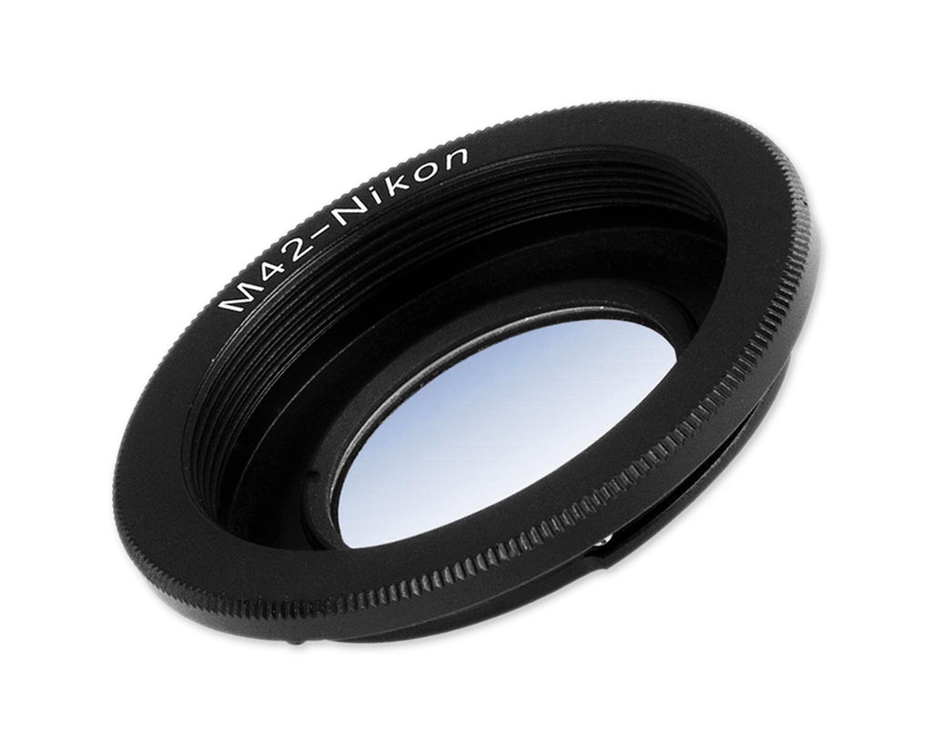 Lens Adapter Mount For M42 Lens to AI Mount Nikon Cameras