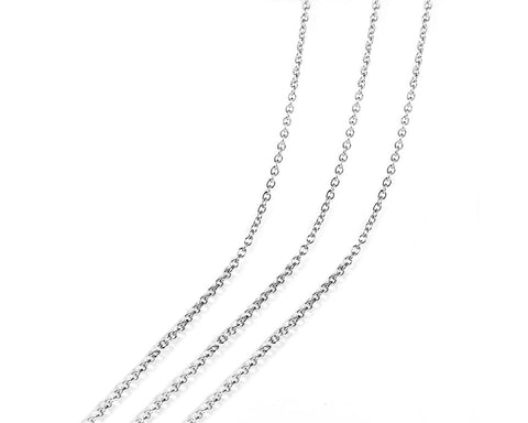 Necklace Chains for Jewelry Making 24 Pieces 18 Inches link Chains