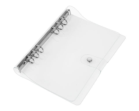 A5 Binder 6-ring Loose Leaf Folder PVC Refillable Notebook Cover
