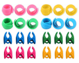 24 Pieces Thread Spool Huggers and Bobbin Clamps Thread Saver Tools