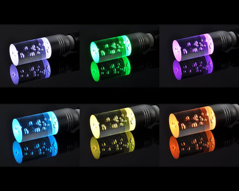 16 Colours Crystal LED Cylinder Light with Remote Control