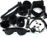 Adult SM Bondage Set with Sex Whip Set of 10