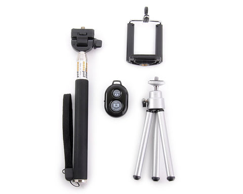 4 in 1 Tripod Selfie Sticks Kit