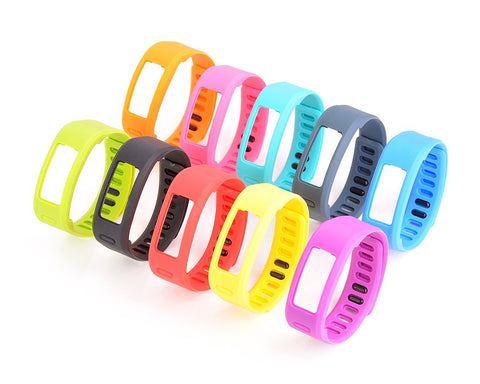 Set of 10 Pcs Colorful Replacement Bands for Garmin Vivofit Tracker