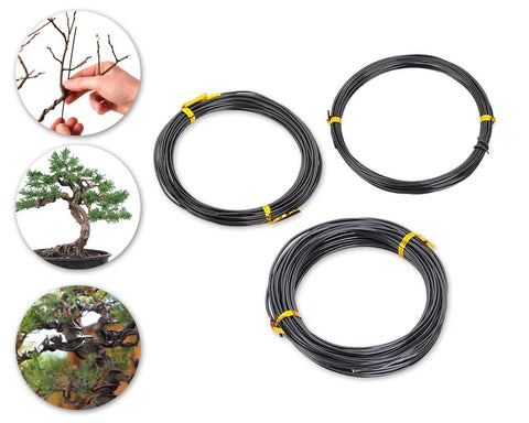 10 Meters Aluminium Bonsai Wire Set of 3