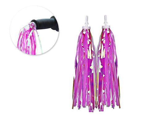 2 Pcs Bike Handlebar Streamers for Kid's Bike - Purple