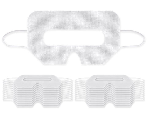 DS. DISTINCTIVE STYLE 20 Pieces Universal VR Disposable Hygiene Eyes Cover, Compatible with HTC Vive, PSVR Playstation VR, Oculus Rift