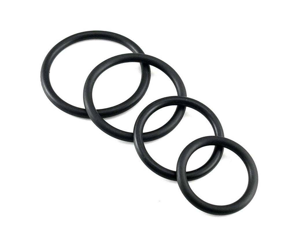 Silicone Cock Ring Set for Men Penis Ring Set of 4