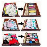3 Pcs Non-woven Clothing Storage Box Drawer Divider