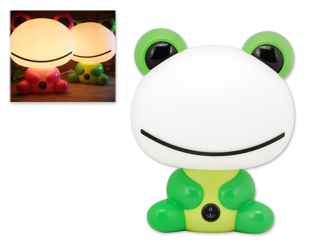 Cute Cartoon Night Light for Kids - Green Frog