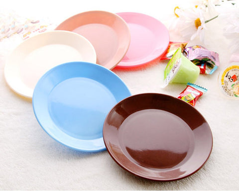 5 Pieces 13 cm Dinner Plates Set Tableware for Party