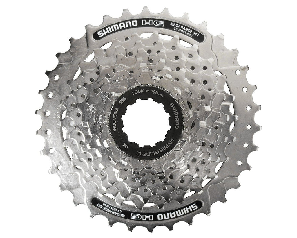 8 x Cassette Shimano cs-hg41 11-32 Teeth