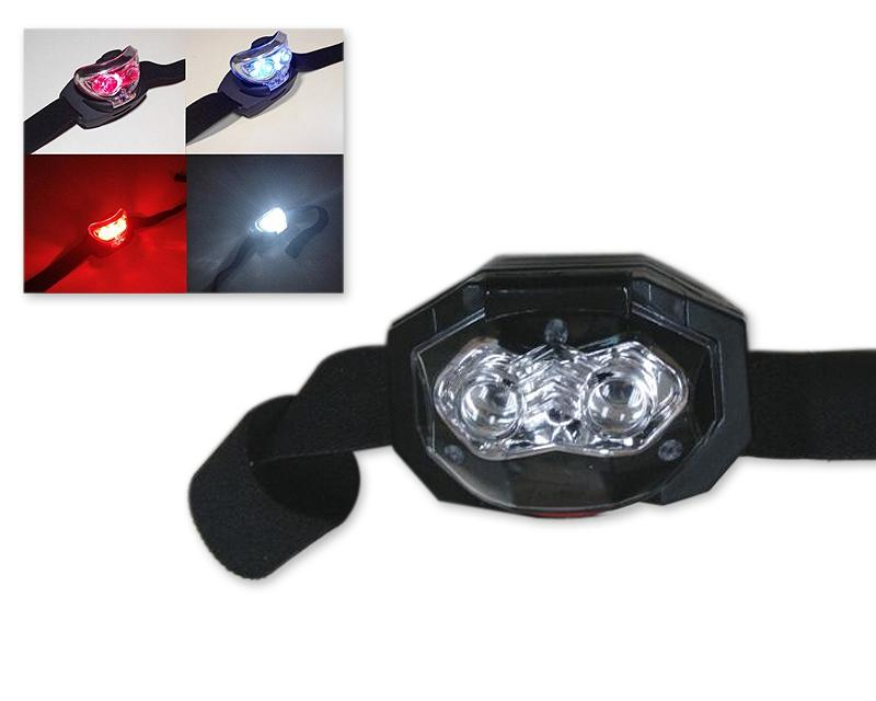 2 in 1 Waterproof LED Headlight with Head Strap