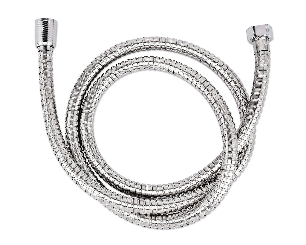 1.5M Stainless Steel Shower Hose - Silver
