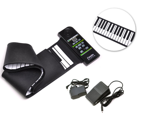 88 Keys Electronic Piano Keyboard Silicon Roll up Piano with Speaker