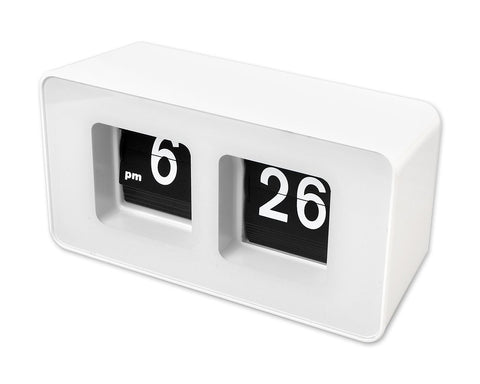 Auto Flip Clock 12 Hours AM PM Display Desk Clock