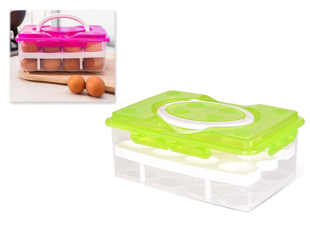 Double-deck Egg Boxes for 24 Eggs