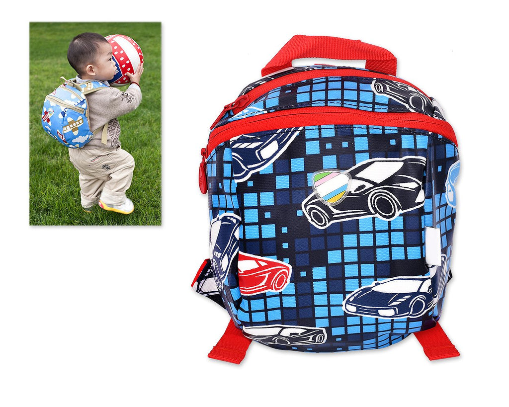 9' Safety Harness Toddler Kids Backpack with Rein Strap - Car