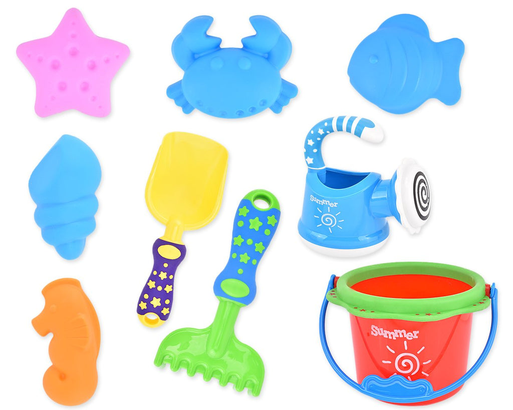 9 Pieces Beach Toys Set for Children Kids