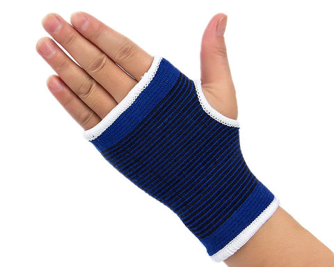 5 Pcs Elastic Wrist Glove Elbow Brace Stretch Ankle Support - Blue