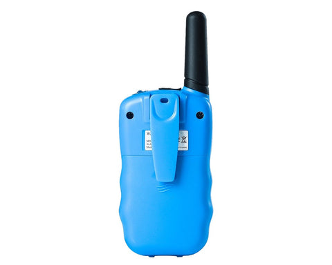 2 Pieces T388 Walkie Talkie for Kids with LCD Display - Blue