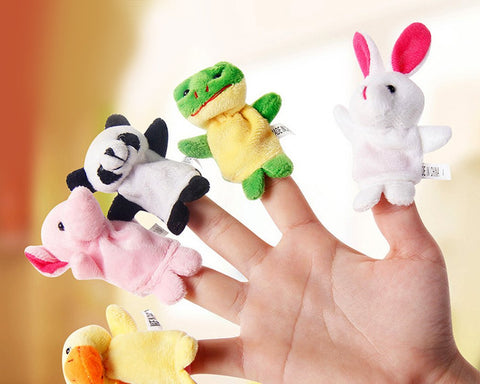 10 Pieces Animal Finger Puppets